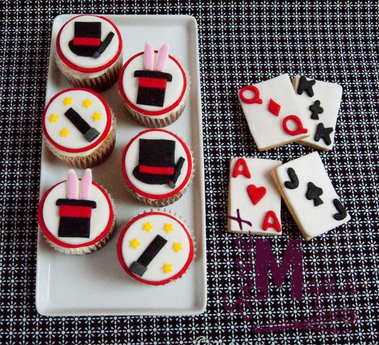 Cupcakes y galletas de magia