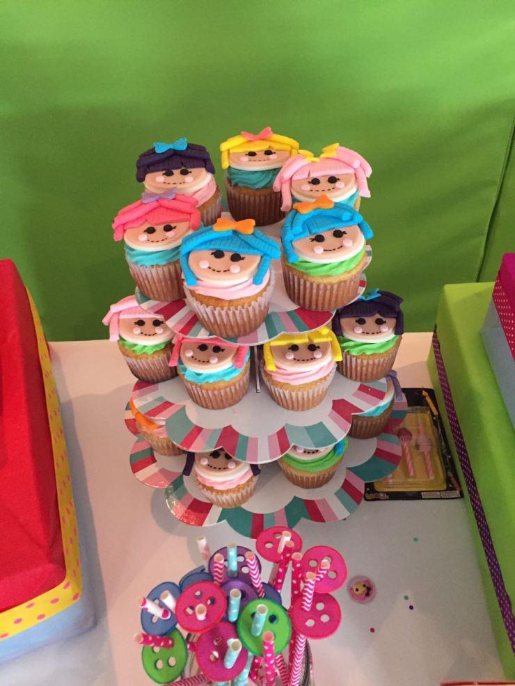 Los cupcakes