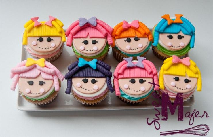 Cupcakes de Lalaloopsy de Sweet Mafer