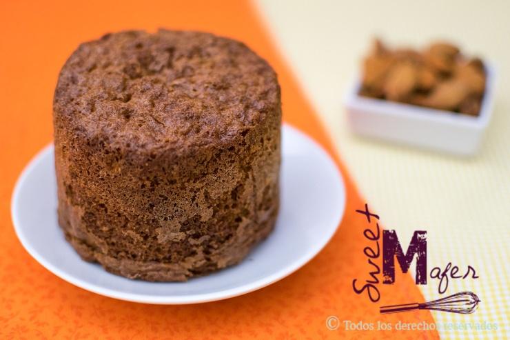 Torta de naranja y almendra de Sweet Mafer