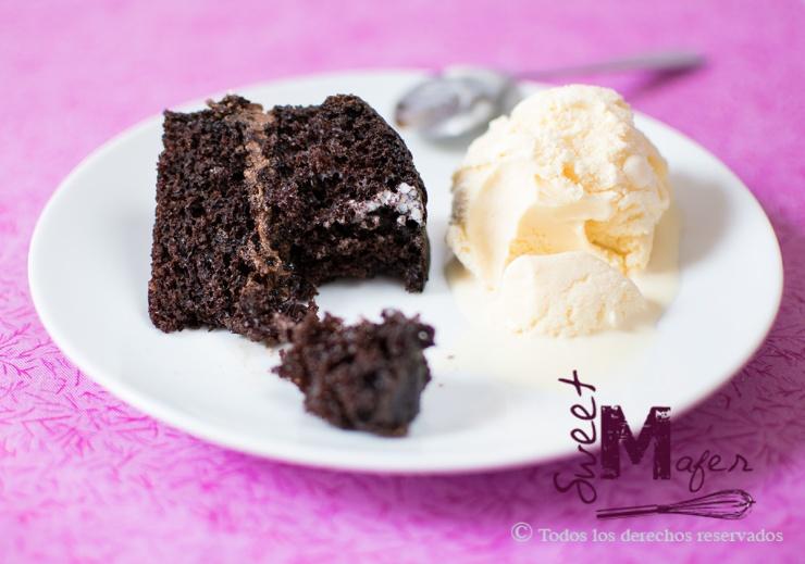 Torta de chocolate de Sweet Mafer