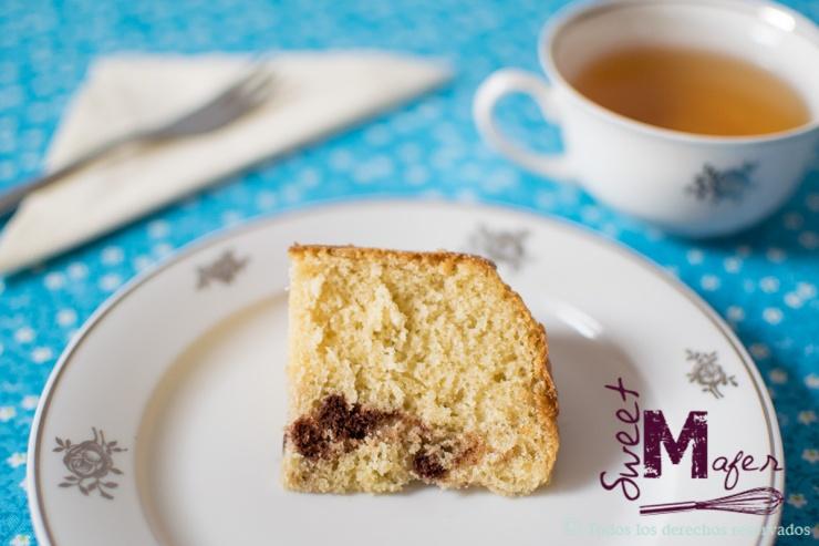Rebanada de torta marmolada de Sweet Mafer