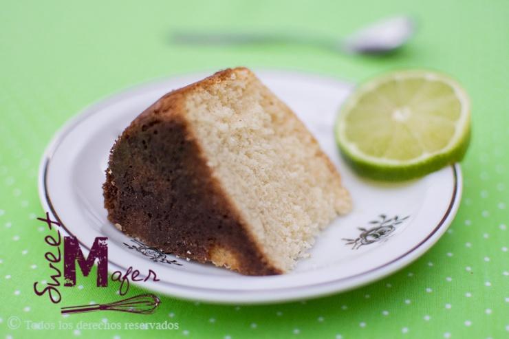 Rebanada de torta de limón de Sweet Mafer