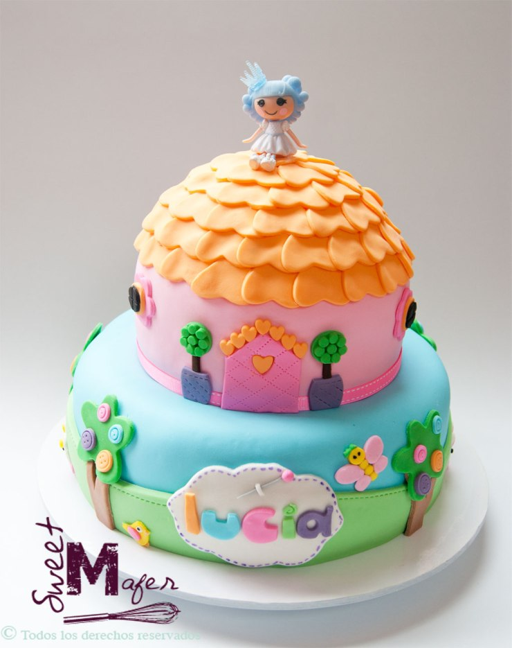 Torta Lalaloopsy de Sweet Mafer