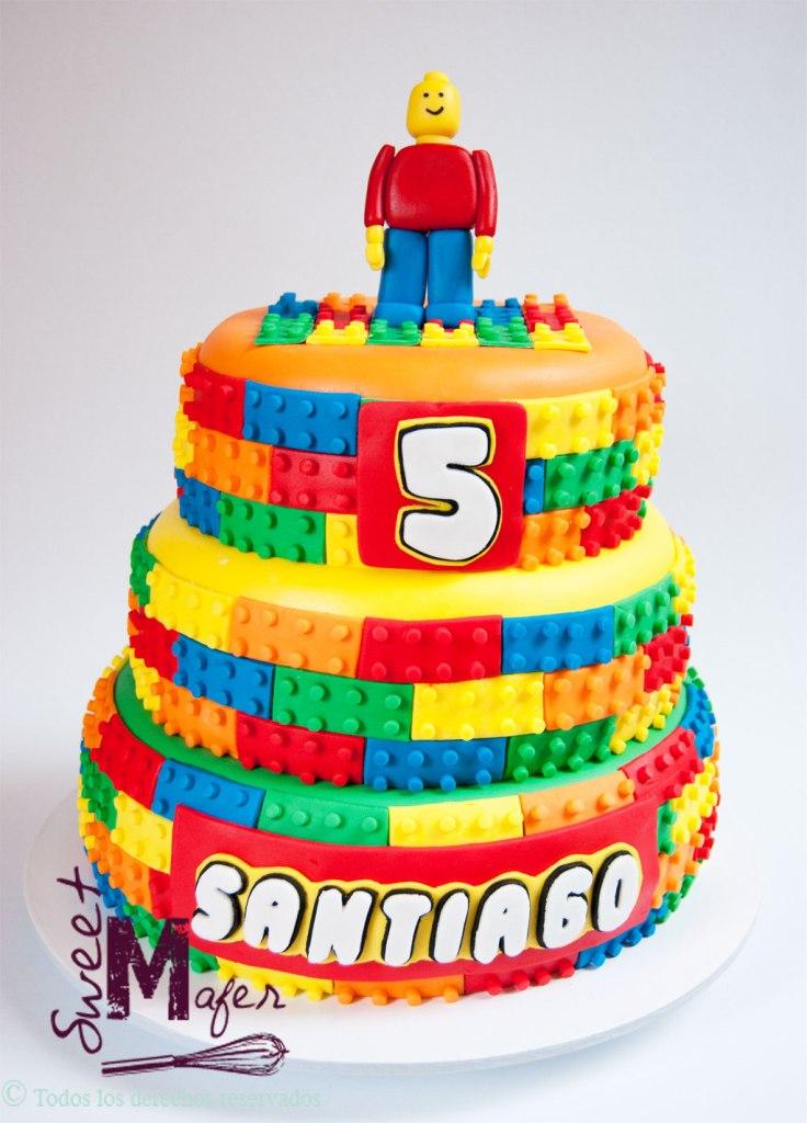 torta lego de sweet mafer