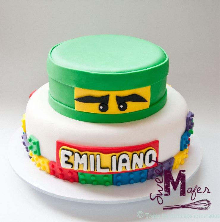Torta Ninja Go de Sweet Mafer