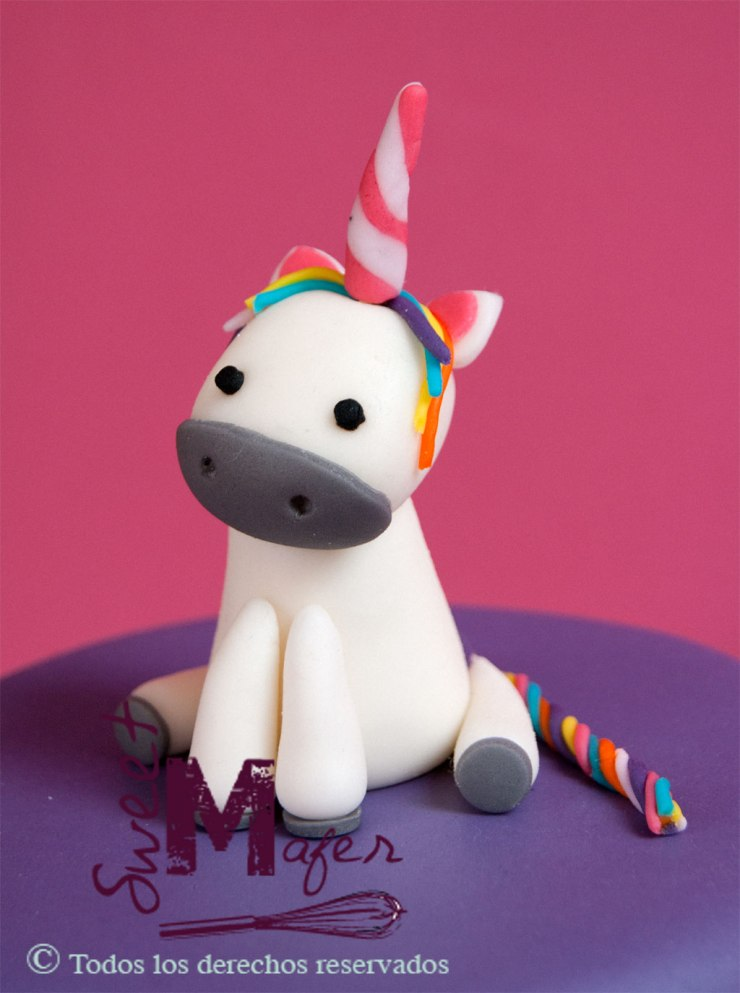 Unicornio de Sweet Mafer