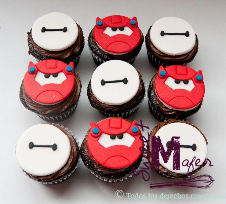 Cupcakes Big Hero 6