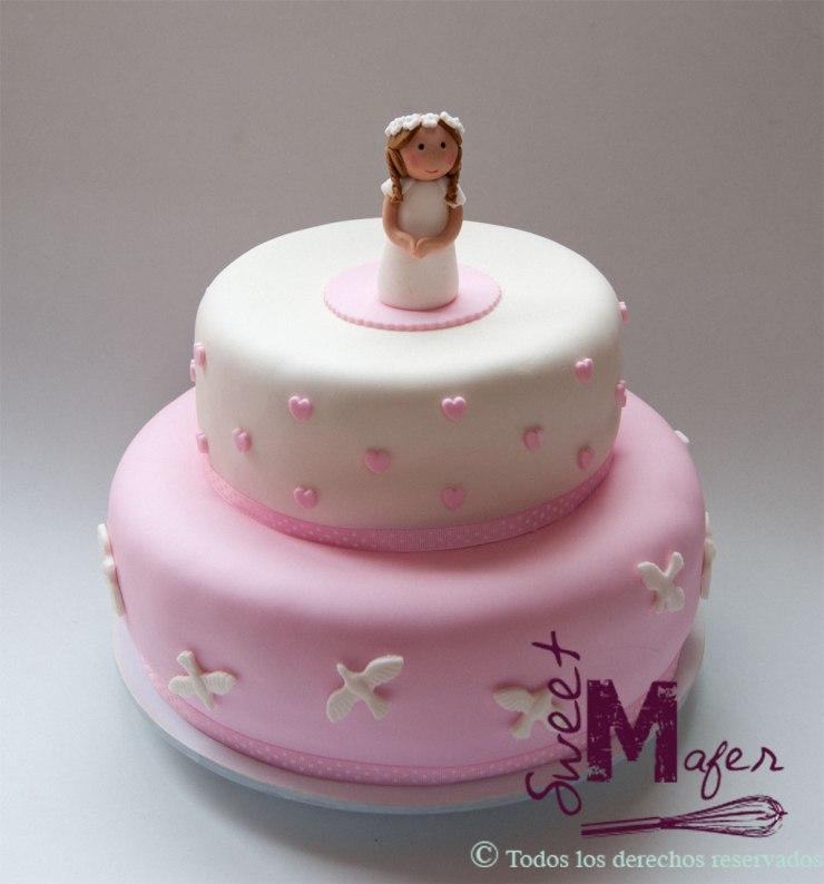 tortas de primera comunion para hembras