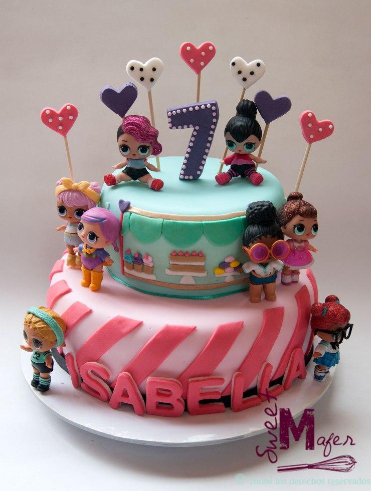 ce66a04de Torta Alicia en el país de las maravillas Torta LOL ...
