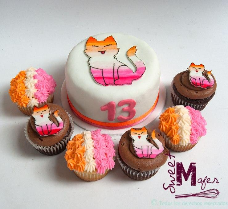 torta-y-cupcakes-gato-degrade