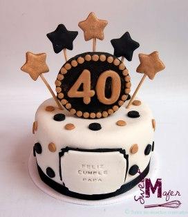 Torta 40 años