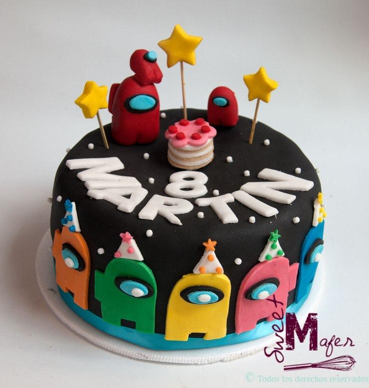 Torta de Among us