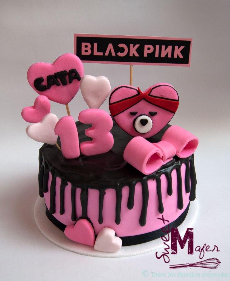 Torta Black Pink