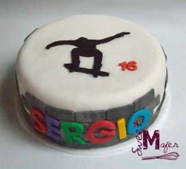 Torta patineta