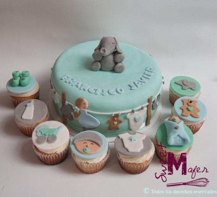 torta-y-cupcakes-baby-shower-nino